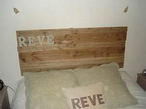 Tete De Lit Bois Flotté : tete de lit avec du bois flott idees creatives ~ Teatrodelosmanantiales.com Idées de Décoration