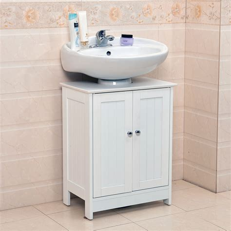 Cabinet For Bathroom Sink by Undersink Bathroom Cabinet Cupboard Vanity Unit Sink