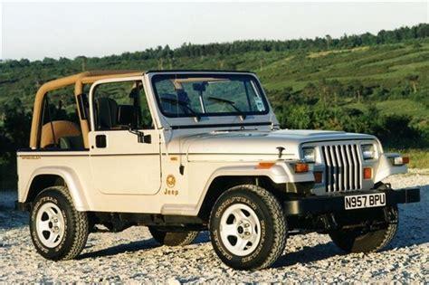 jeep wrangler yj classic car review honest john