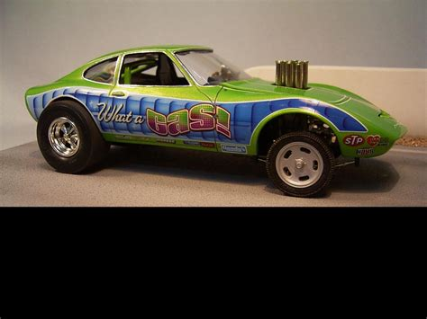 Model Car by Opel Gt Gasser Drag Racing Models Model Cars Magazine