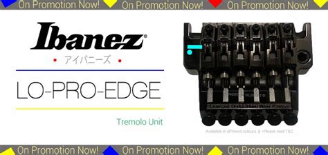 Ibanez Lo Pro Edge Tremolo Unit On Promotion Now