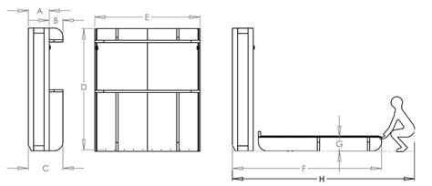 Lori Wall Beds Dimensions