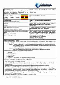 Consulint civil engeneers transports natural and water for Prepare tender documents
