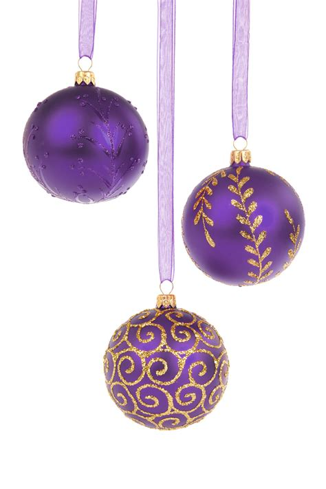 purple christmas baubles oz free images at clker com
