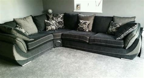 Subwoofer Sofa by Large Corner Sofa Built In Speakers In Norwich