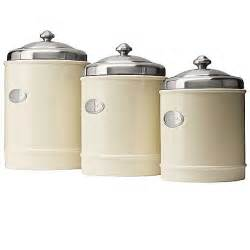 stainless steel kitchen canister sets capriware kitchen canisters ceramic stainless steel save 35