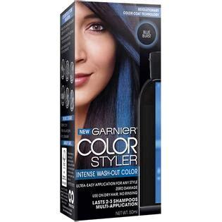 garnier wash out hair color garnier color styler wash out haircolor blue burst