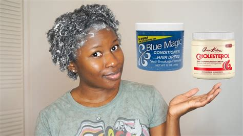 Using Blue Magic Hair Grease & Queen Helene