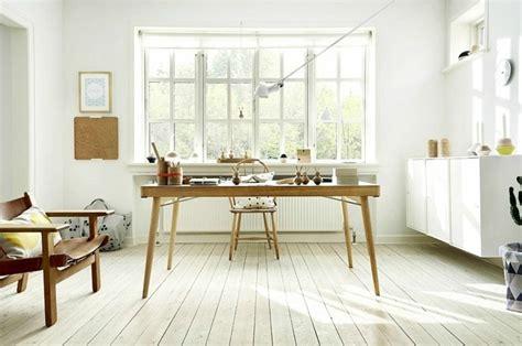bureau de style mode bureau scandinave 50 idées pour un coin de travail pratique