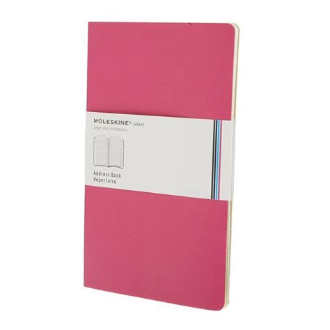 Moleskine Volant Home Carpe Diem Markers Moleskine Volant Address Book