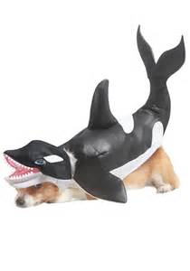 Animal Planet Orca Dog Costume, Medium, Black/White [Misc