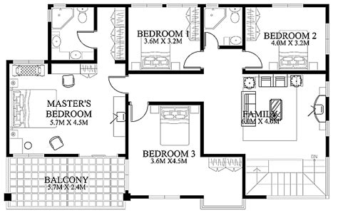 house plans contemporary modern house design 2012002 eplans