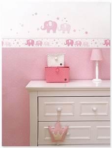 Wandgestaltung Kinderzimmer Mädchen : elefanten girls rosa grau klassisches babyzimmer in rosa wei und grau mit elefanten ~ Sanjose-hotels-ca.com Haus und Dekorationen