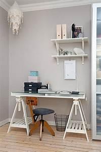 Bureau Sur Tréteaux : bureau sur tr teaux simple et efficace ~ Teatrodelosmanantiales.com Idées de Décoration