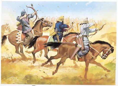 parthians battle carrhae nomadic horse central asia peoples