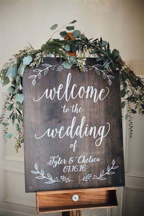 33 Most Popular Rustic Wedding Signs Ideas Wedding Ideas