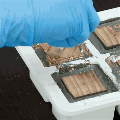 Concrete Blocks Into Pull Holes Tap Minimalist
