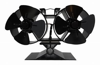 Fan Stove Eco Double Friendly Blade 2x4