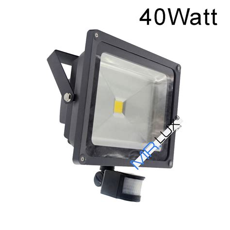 LED Außenlampe mit Bewegungsmelder