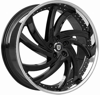 Turbine Lexani Wheel Wheels Stainless 24x9