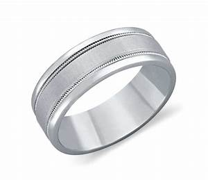 milgrain wedding ring in platinum 7mm blue nile With milgrain wedding ring