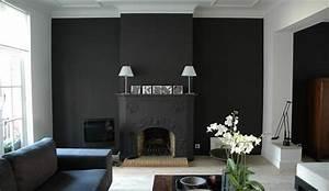 deco mur gris fonce 20171021194415 tiawukcom With couleur pour mur salon 2 deco salon gris 88 super idees pleines de charme