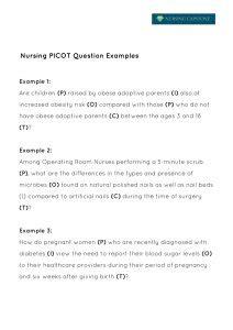 picot nursing