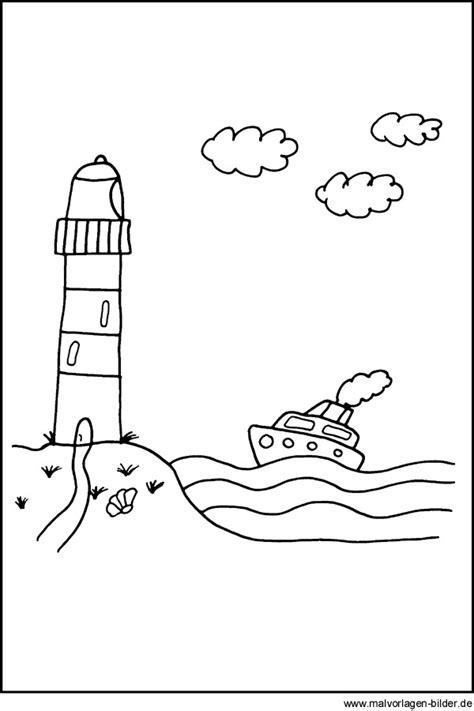 Maritime Motive Zum Ausmalen by Malvorlage Leuchtturm Abschied Klasse 9