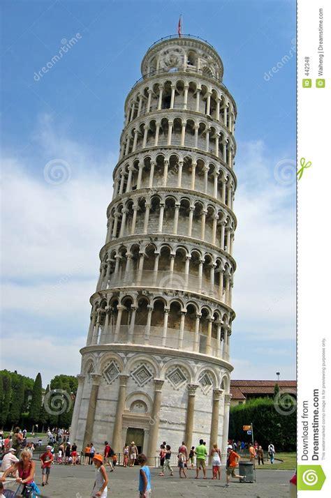 pisa tower royalty  stock  image