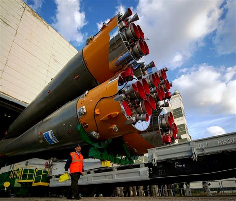 New Space Station Trio Ready For Wednesday Soyuz Launch