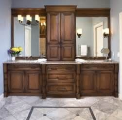 traditional double vanity foter