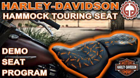 Hammock Seat For Harley Davidson by Harley Davidson Hammock Seat Demo 2018 Heritage 114