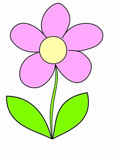 Flower Clipart Purple Clip Flowers Cartoon Cartoons