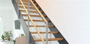 Stahltreppe Mit Holzstufen : moderne treppen bei finden sie ihre treppe ~ Michelbontemps.com Haus und Dekorationen