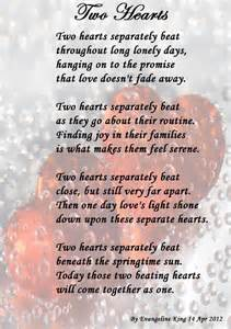 Two Hearts One Love Poem