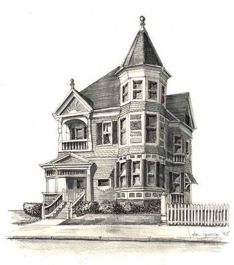house drawings ste george home portraits