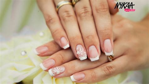step french manicure french manicure nail art  home nykaas beauty book