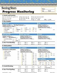Memory Card Chart Gander Publishing Seeing Stars Progress Monitoring Charts