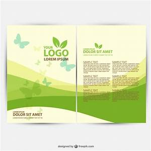 30 free brochure vector design templates designmaz With free online templates for brochures