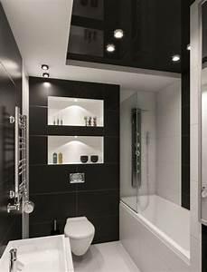 Kleines Wc Fliesen : kleines badezimmer fliesen ideen schwarz weiss kombination matt bad ideen pinterest ~ Markanthonyermac.com Haus und Dekorationen