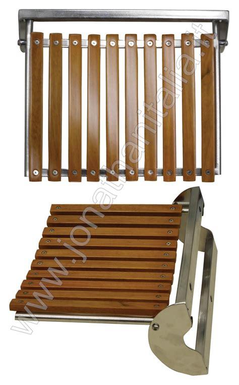 sedili doccia box doccia sedili box doccia sedili in legno e acciaio
