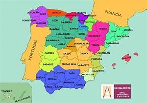 Carte Espagne Majorque