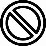Icon Symbol Verbot Prohibition Icons Kostenlos Svg