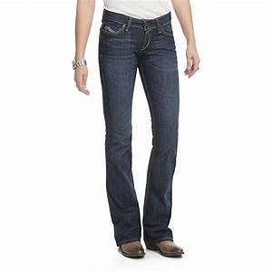 Ariat Ruby Stretch Jeans - Slim Fit Low Rise Bootcut ...