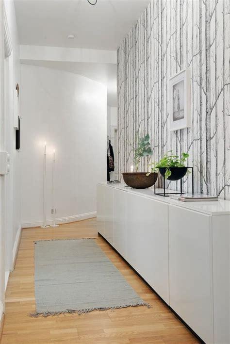 cuisine style shabby papier peint pour couloir comment faire le bon choix