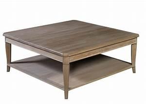 Table Basse Carrée 100x100 : table basse carr e en ch ne ~ Teatrodelosmanantiales.com Idées de Décoration