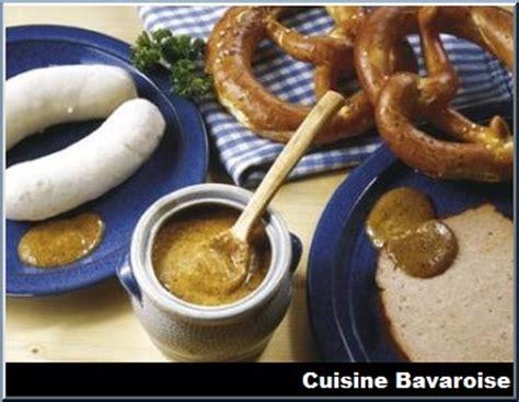 cuisine de baviere les spécialités bavaroises typiques