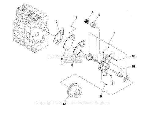 Generac Parts Diagram For Diesel Water Pump