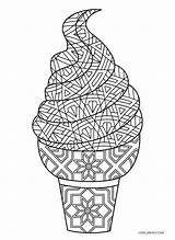 Ice Cream Coloring Pages Printable Cool2bkids Template sketch template