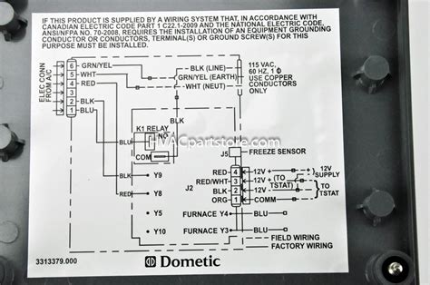 dometic rv thermostat wiring diagram dometic thermostat wiring diagram download